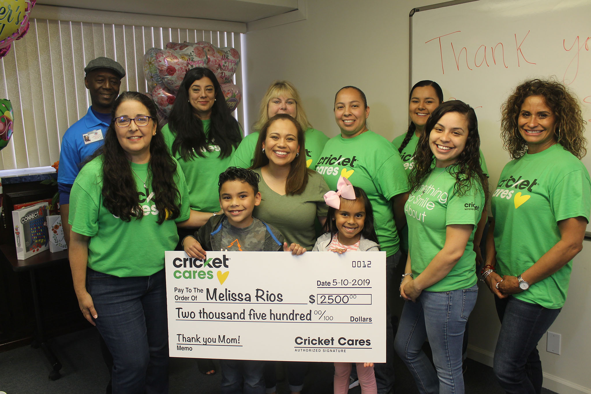 American GI Forum & Cricket Wireless Surprise Veteran Moms For Mother's Day!