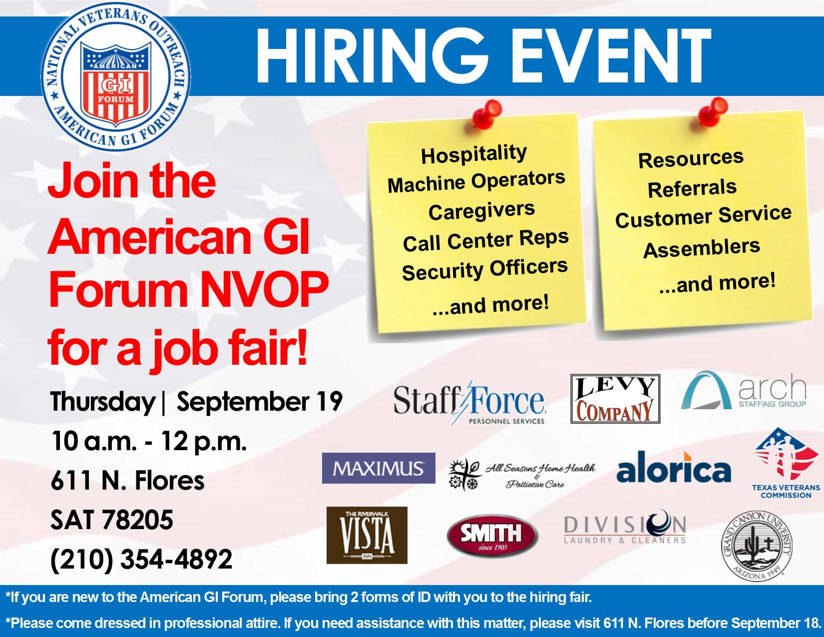 September Hiring Fairs Set in San Antonio, Houston, Dallas, and Fort Worth!